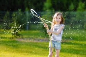 Gartenbewässerung Gartenschlauch